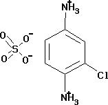 2-Chloro-1,4-phenylenediammonium sulfate