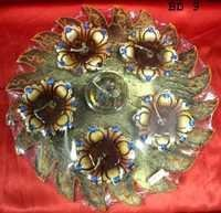 6 pcs Fancy Diya Set