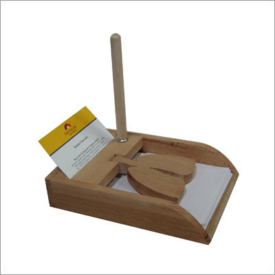 Wooden Pad Holder
