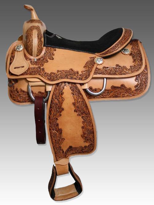 Designer Western Saddle