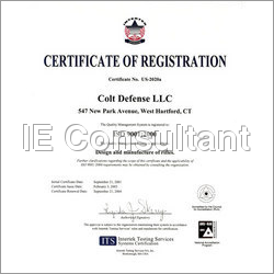 ISO / SSI Certification Services