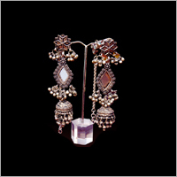 Pure Silver long Earring