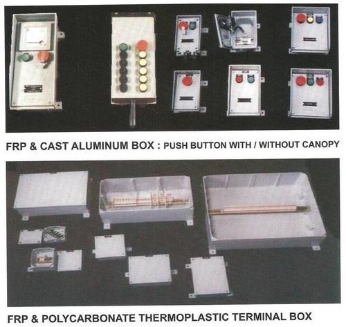 Cast Aluminium & FRP Indl Terminal Junction Boxes