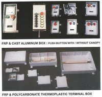 Cast Aluminium & FRP Indl Terminal Junction Boxes