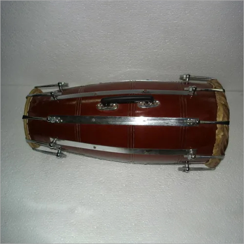 DHOLAK NAAL WITH METAL STRIPS