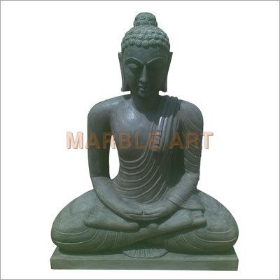 Stone Antique Finish Budha