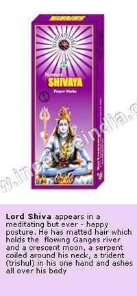 Shiva - Divine Incense Sticks