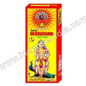 Murugan - Divine Incense Sticks