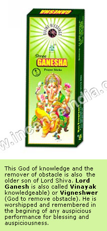 Ganesha - Divine Incense Sticks
