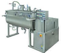 Vacuumized Ribbon Mixer Dryer