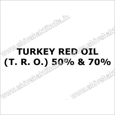 Turkey Red Oil (T. R. O.) 50%