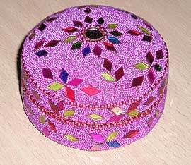 Hand Decorated Pill Boxes