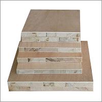 Blockboard Red Hardwood Face
