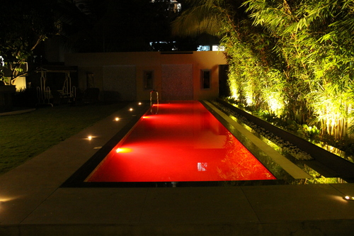 Swimming Pool lighting