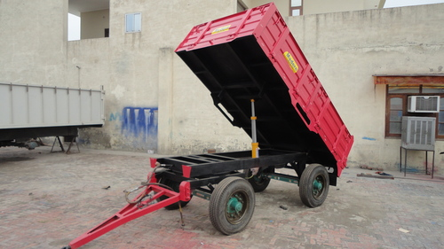 Twin Tyre Tipping Trailer