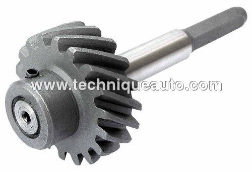 OIL PUMP DRIVE GEAR WITH SHAFT  FORD-3610