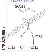 1(3-SULFO)PHENYL 3-METHYL-5PYRAZOLONE (1:3 SPMP)