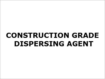 Construction Grade Dispersing Agent