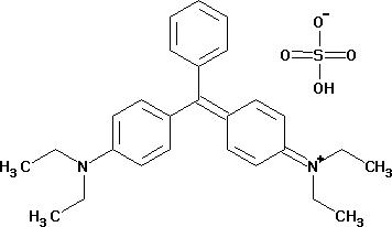 Brilliant green (hydrogen sulfate) (C.I. 42040)