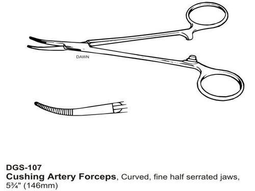 Cushing Artery Foreceps