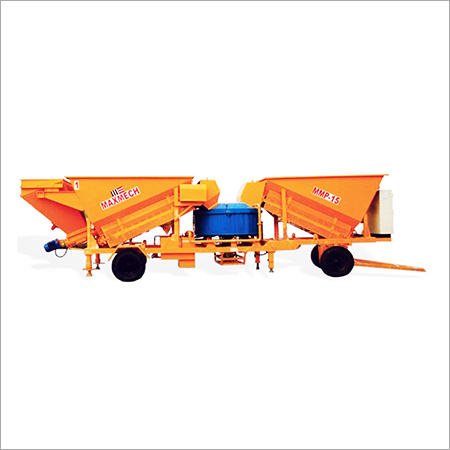 Mobile Concrete Batching - Mixing Plant