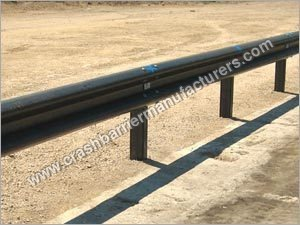 Untensioned Corrugated Beam Barriers