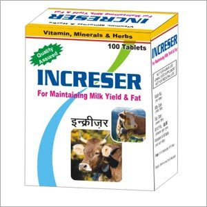 Cattle Milk Booster Tablets