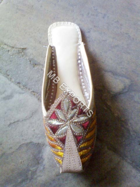 Indian Leather Slipper