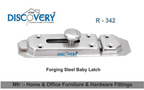Door Baby Latch Steel