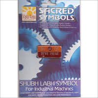 Shubh Labh Symbol For Machines