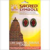 Om Swastik Trishul Symbols