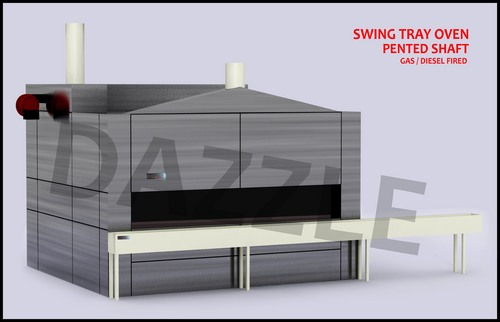 Pented Shaft Swing Tray Ovens