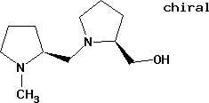 2S,2'S)-(-)-2-Hydroxymethyl-1-[(1-methylpyrrolidine- 2-yl)-methyl]-pyrrolidine