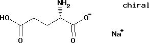 Sodium L-glutamate monohydrate