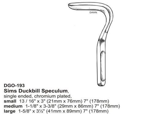 Sims Duckbill Speculum