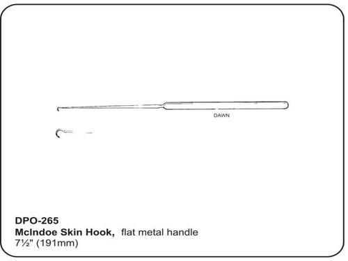 McIndoe Skin Hook Item Size