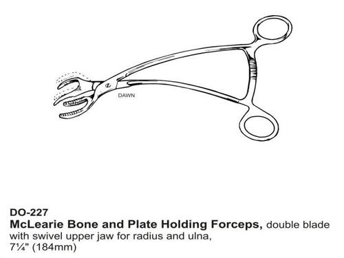 McLearie Bone and Plate Holding Foreceps