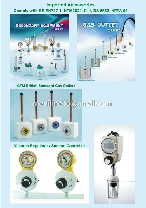 Gfm British Standard Gas Outlets
