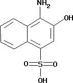 1-Amino-2-hydroxy-4-naphthalenesulfonic acid
