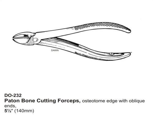 Paton Bone Cutting Foreceps