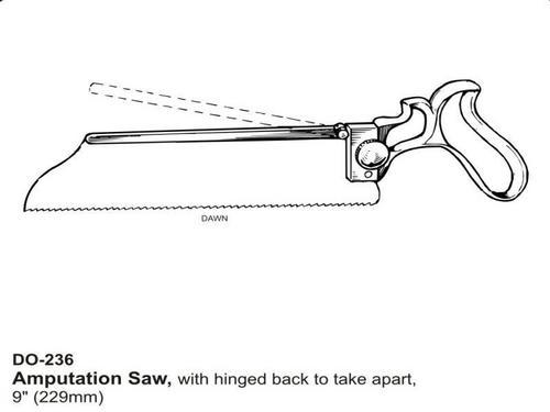 Amputation Saw