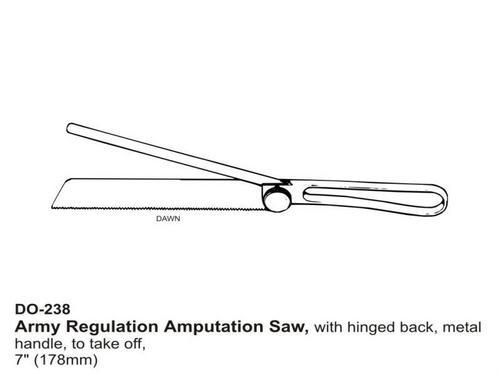 Army Regulation Amputation Saw