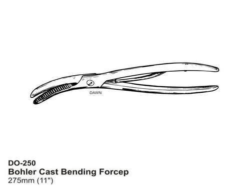 Bohler Cast Bending Forecep