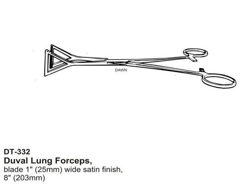 Duval Lung Forceps