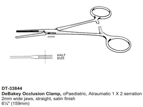 DeBakey Occlusion Clamp