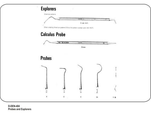 Probes and Explorers