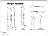 Amalgam Condensers Amalgam Pluggers