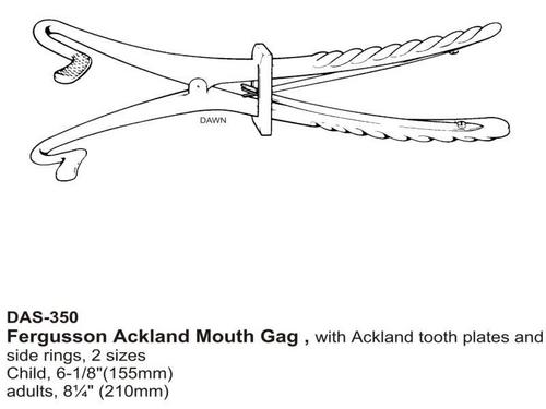 Fergusson Ackland Mouth Gag