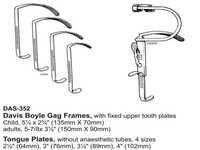 Davis Boyle Gag Frames