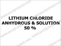 Lithium Chloride Anhydrous & Solution 50 %